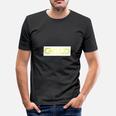 Or or - T-shirt moulant Homme