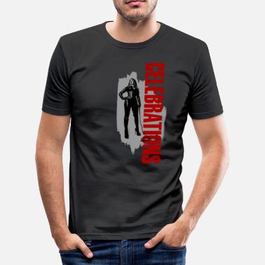Celebration Celebrations - Männer Slim Fit T-Shirt