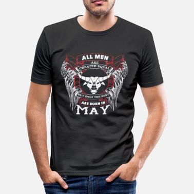 Taurus May May Taurus Zodiac - Men's Slim Fit T-Shirt