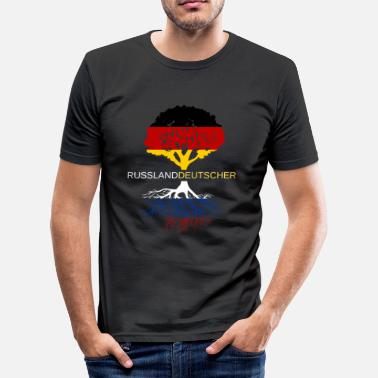Germanen Rusland German - slim fit T-shirt