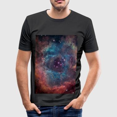 Planetary Nebula  - Men's Slim Fit T-Shirt