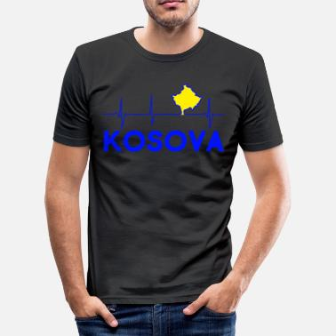 Kosova KOSOVA - Men's Slim Fit T-Shirt