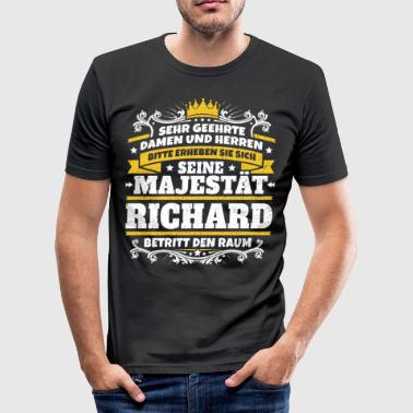 His Majesty Richard - slim fit T-shirt