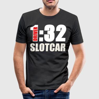 Slotcar 1:32 Carrera Modellsport Gift - Men's Slim Fit T-Shirt