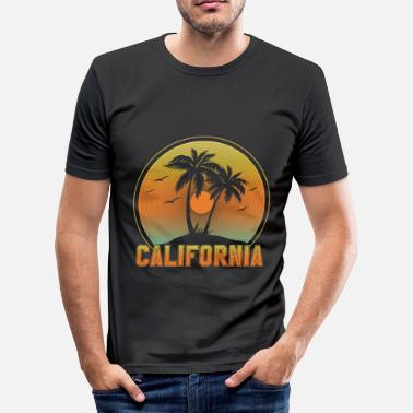 Californien Californien - Slim fit T-shirt mænd