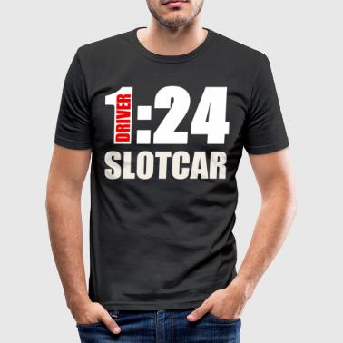 Slotcar 1:24 Carrera model sport gift - Men's Slim Fit T-Shirt