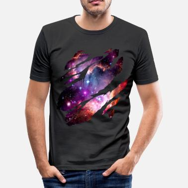 Galaxy Deep Space Inside - Men's Slim Fit T-Shirt