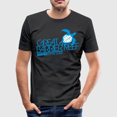Great Barrier Reef - Men's Slim Fit T-Shirt