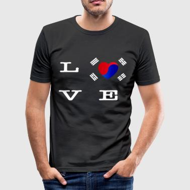 Kdrama i love kpop kdrama korea namsan tower seoul - Men's Slim Fit T-Shirt