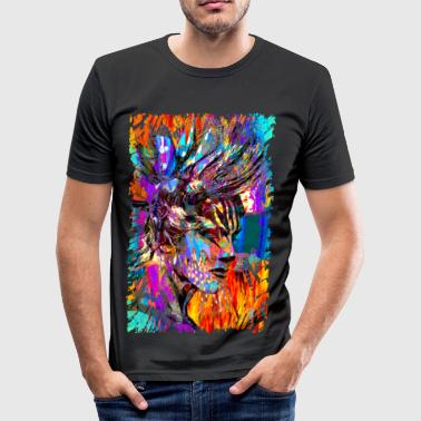 HAIRstyle - Männer Slim Fit T-Shirt