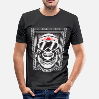 Kamikaze Kamikaze - Slim fit T-skjorte for menn