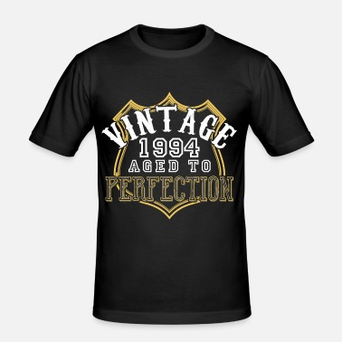 1994 Vintage 1994 Aged To Perfection - Men's Slim Fit T-Shirt