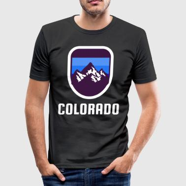 Rockies Colorado Rockies Retro Style - Slim Fit T-shirt herr