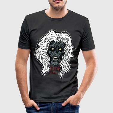 Street Zombie, Eddie - Slim Fit T-skjorte for menn