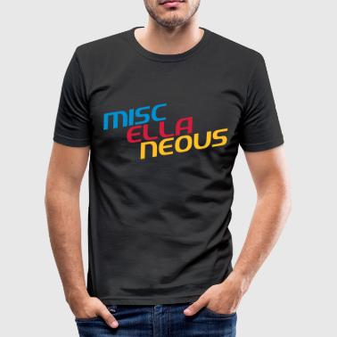 miscellaneous english gift slogan colored motive - Men's Slim Fit T-Shirt