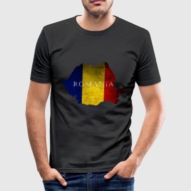 Rumænien Bukarest Østeuropa - Herre Slim Fit T-Shirt