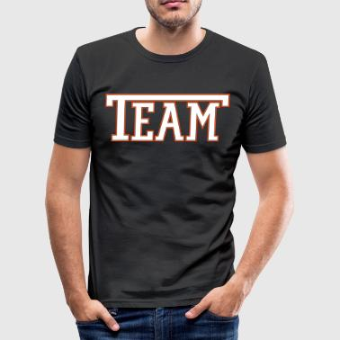 Team Font - slim fit T-shirt