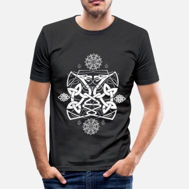 Celtic Celtic Raven - Slim fit T-shirt mænd