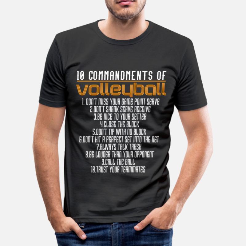 f2c2c29eff Shop Volleyball T-Shirts online   Spreadshirt