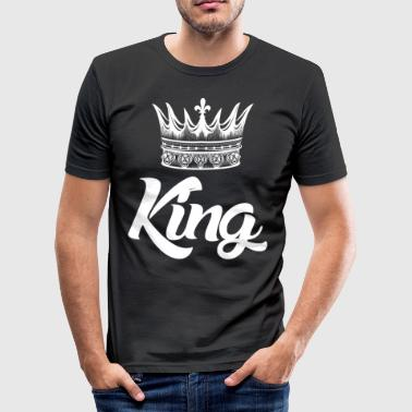 Matchende Outfits Kong T Shirt - matchende outfits - Gift - Herre Slim Fit T-Shirt