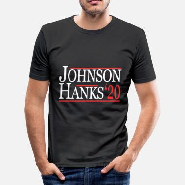 Hank Johnson Hanks for president 2020 - Slim Fit T-skjorte for menn