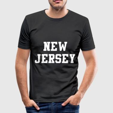 New Jersey New Jersey - Herre Slim Fit T-Shirt