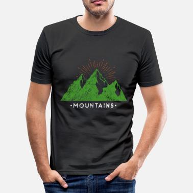 Berg Bergen bergen - slim fit T-shirt