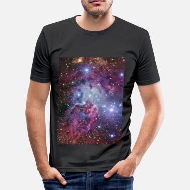 Stars Planets Stars and Nebulae Iphone 4 hardcase - Men's Slim Fit T-Shirt