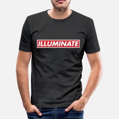 Illuminations Illuminate - Men's Slim Fit T-Shirt