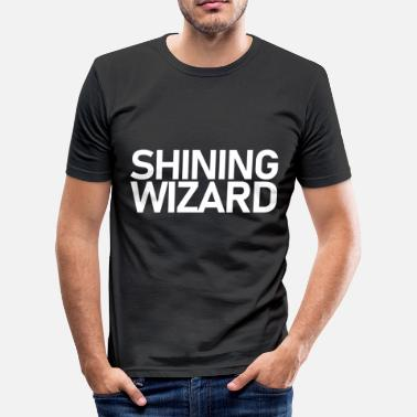 Shining Shining Wizard Wrestling Shirt - slim fit T-shirt