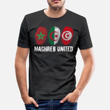 United MAGHREB UNITED المغرب - T-shirt près du corps Homme