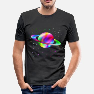 Saturn Saturn - Men's Slim Fit T-Shirt