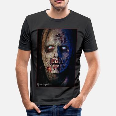 Romain Zombie 01 - Slim Fit T-skjorte for menn