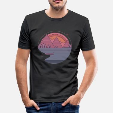 Alpen Alpen - slim fit T-shirt