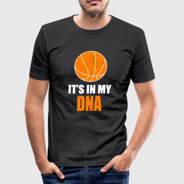 Basketball Spruch - Männer Slim Fit T-Shirt