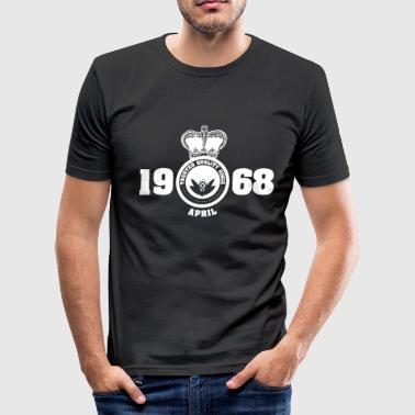 April 1968 Birthday April 1968 - Men's Slim Fit T-Shirt