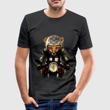 Fox Biker - Männer Slim Fit T-Shirt