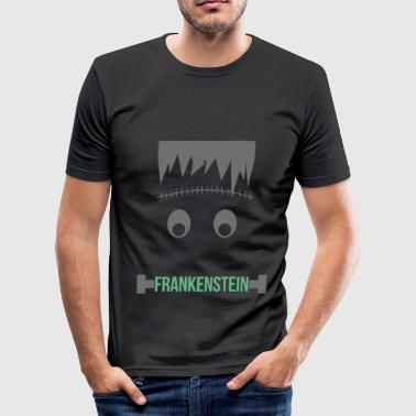 Halloween Frankenstein Halloween - Frankenstein - Men's Slim Fit T-Shirt