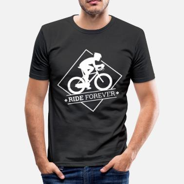 Ride Forever Ride Forever - Men's Slim Fit T-Shirt