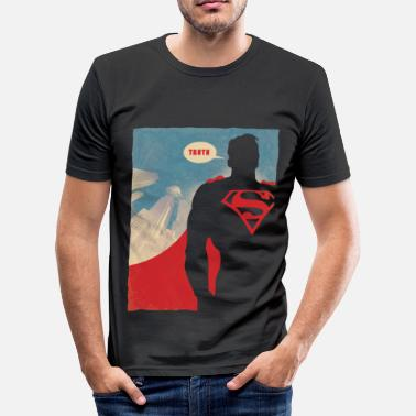 Superman Truth Hommes tee shirt - T-shirt moulant Homme