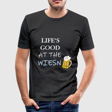 Zur Wiesn Wiesn - Männer Slim Fit T-Shirt