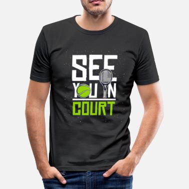 Tribunal On se voit au tribunal - T-shirt moulant Homme