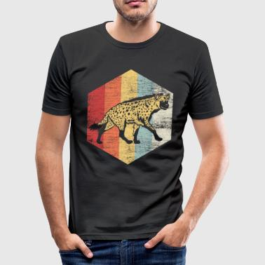 Schadenfreude Hyena Hyena Africa Schadenfreude Safari Savannah - Men's Slim Fit T-Shirt