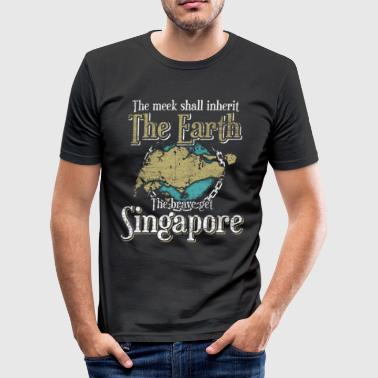Singapore Singapore - Herre Slim Fit T-Shirt