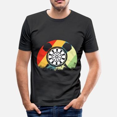 Dart Dartboard Darts Dartboard Electronic Dartboard - Men's Slim Fit T-Shirt