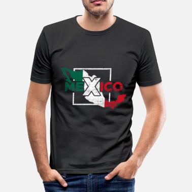 Central America Mexico Central America - Men's Slim Fit T-Shirt