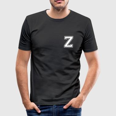 z - Slim Fit T-skjorte for menn