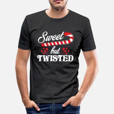 Twisted Sweet but twisted - Men's Slim Fit T-Shirt