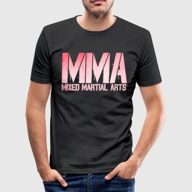 MMA Fight Club Mixed Martial Arts Gift - Herre Slim Fit T-Shirt