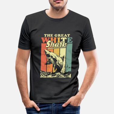 Great White Shark Great White Shark - Männer Slim Fit T-Shirt